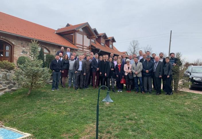 Sastanak ICC odbora u 2018/2019 godini u Starci, Staro Petrovo Selo, 16. ožujka 2019.